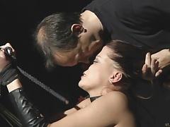 Beautiful redhead slavegirl cry for more pleasure tubes