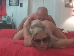 Homemade cunt licking with hot blonde tubes
