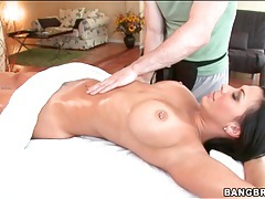 Rachel Starr sensual oil massage tubes