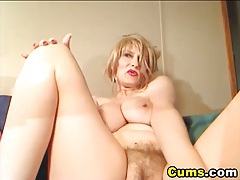 Massive Tits Cougar Pleasures Herself HD tubes