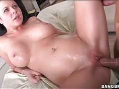 Massage table fuck with facial ending tubes