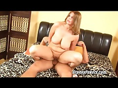 Big titty girl with curves slammed in the cunt tubes