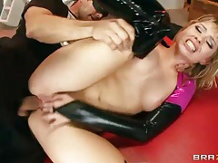 Molly Bennett in hot latex sex video tubes