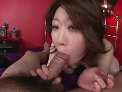 Licking a wet cunt of the girl that sucks his dick tubes