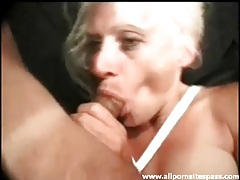 Anal sex and sucking with mature blonde tubes