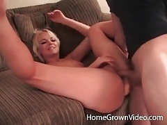Cumshot in the cunt of skinny blonde hottie tubes
