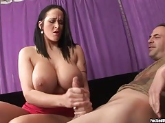 Carmella Bing likes to get hard with this handjob tubes