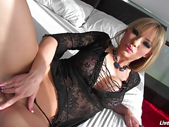 LiveGonzo Maya Hills Cute Blonde Face Gets Fucked tubes