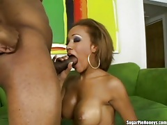 Ebony lover with fake tits fucked hardcore tubes