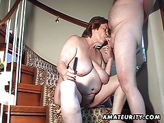 Chubby amateur wife toys and sucks and gets fucked tubes