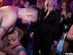 Cumshots flying in a hot party scene tubes