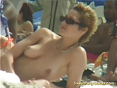 Sweet party chicks naked tits tubes