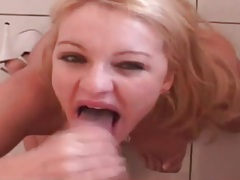 Kitchen BJ and fuck with a wet pussy girl tubes