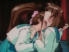 Hentai schoolgirls in lesbian sex video tubes