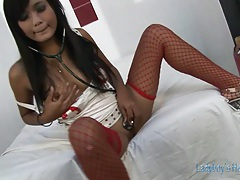 Asian Shemale Bareback Anal Action tubes