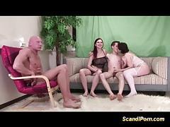 Scandinavian babes hard orgy tubes