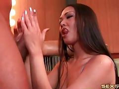 Girl in lace takes him deepthroat over and over tubes