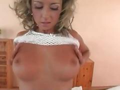 Sensual striptease leads to hot blowjob tubes