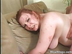 Horny chubby brunette MILF slut gets her ass fucked hardcore tubes