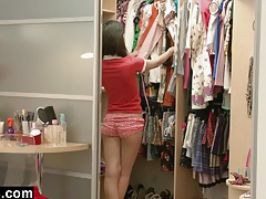 Young Asian Teen Discovering Her Body tubes
