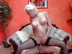 Pierced vagina blonde with big tits boned tubes