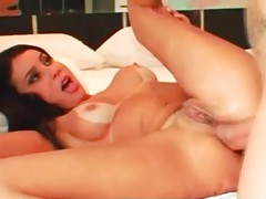 Latina in a big cock anal scene loves it tubes