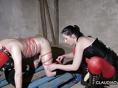 maitresse dominatrice claudiacuir french amateur tubes