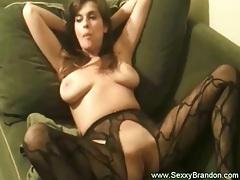 Young Brunette Bubble Girl with Big Tits Masturbate tubes