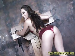 Big ass babe sucked cock and fucked tubes