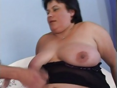 Sexy big belly of a brunette fucked lustily tubes