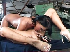 Fit bodies and big tits on hot lesbian lovers tubes