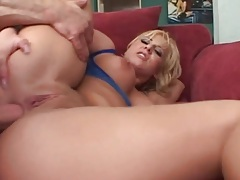 Curvy blonde asshole used by a stiff dick tubes