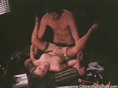 Sandy shows her naughty skills to the new boss tubes