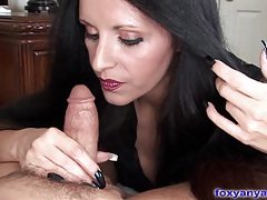 Foxy anya gets fucked and big tits jizzed tubes
