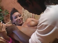 Cute black chick with short hair fucked hardcore tubes