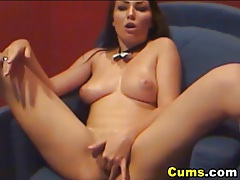 Pole dancer masturbates with dildo hd tubes