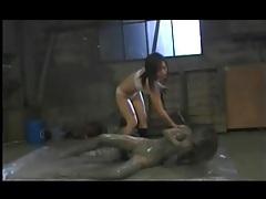Asian lesbian mud slave tubes
