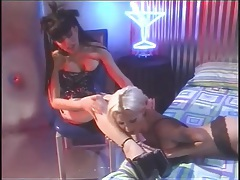 Toe sucking and femdom play with hot ladies tubes