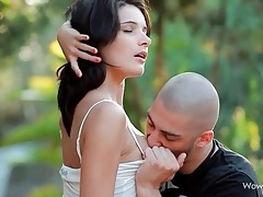 Gorgeously filmed erotic cocksucking outdoors tubes
