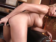 Blonde pornstar gets ass fucked tubes