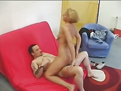 Horny momma eaten out and plowed hard tubes