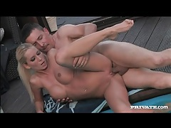 Blonde with perfect body fucked outdoors tubes