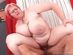 Bbw slut in a hardcore fuck video tubes