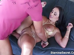 Hot milf fucked on her big boobs tubes