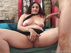 Hairy girl is incredible at sucking dick tubes