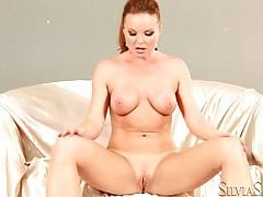 Nude and sexy silvia saint masturbates pussy tubes