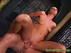 Sexy melissa do a good deep throat and anal sex 2 tubes