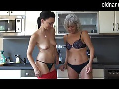 Watch horny mature lesbian sex with a younger girl tubes