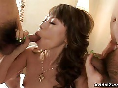 Horny japanese babe deeply fucked uncensored tubes