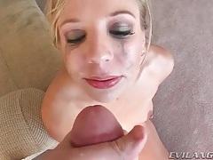 Gagging sluts get their facial cumshots tubes